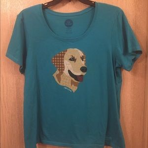 Life Is Good | Size XL | Teal